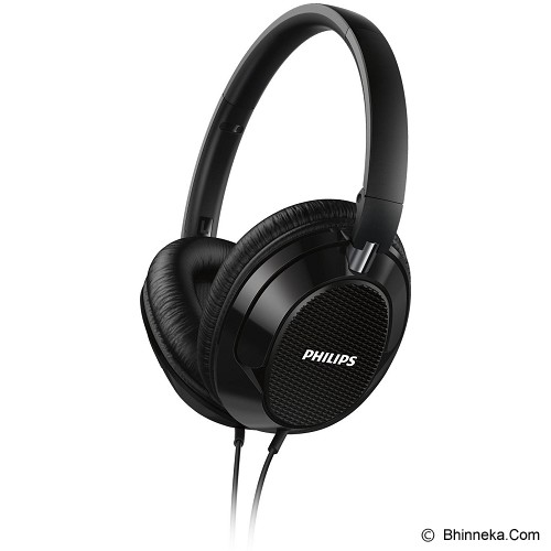 PHILIPS Lightweight Headphone [FX3BK] - Black - Headphone Full Size